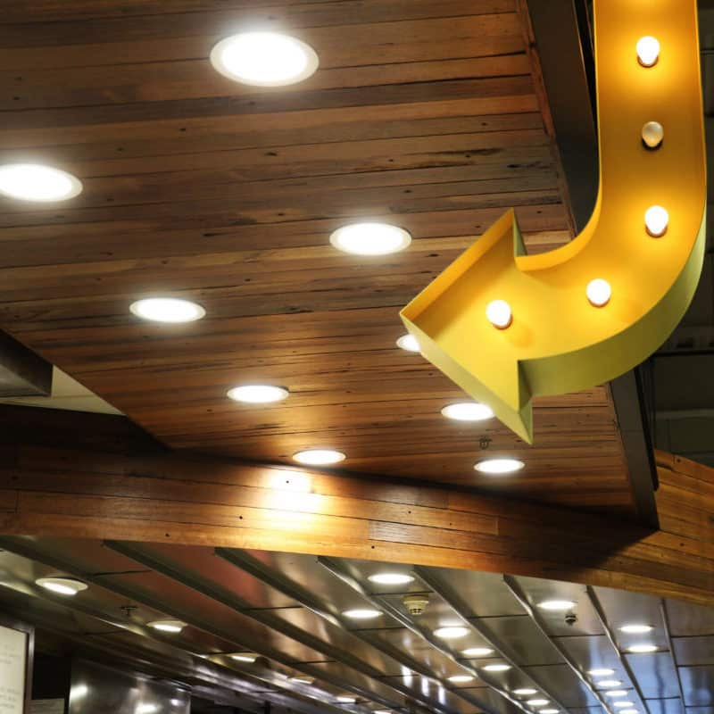 Coney Island Boardwalk Paneling at Whole Foods