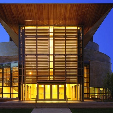 Williams College Theater Building Solar Shade
