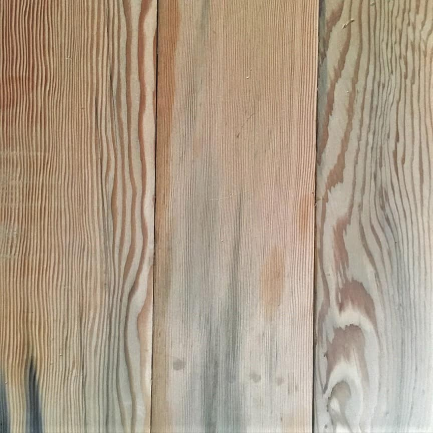 Reclaimed Douglas Fir Tank wood paneling
