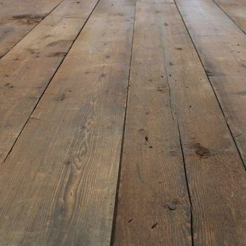 Early American Wood pine floor