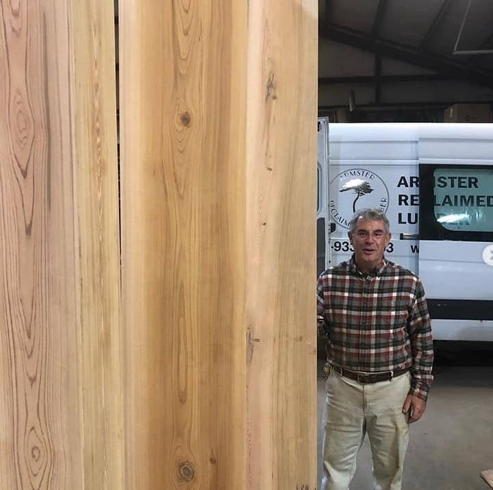 Sinker Cypress Box Beams