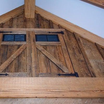 Barn Beam and Board Garage recreation