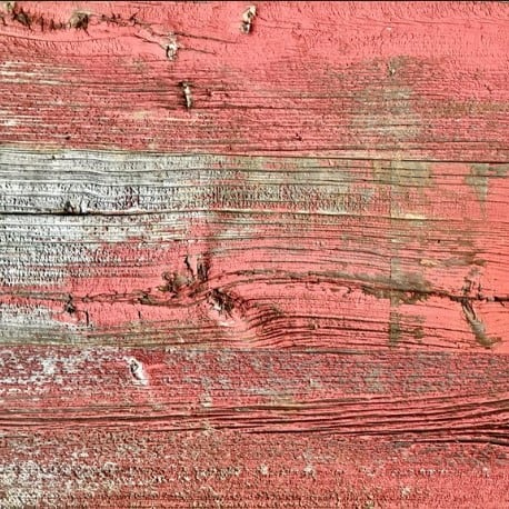 Barn Siding in Weathered Red Paint