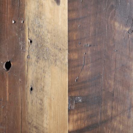Circle sawn Northeast Softwood flooring